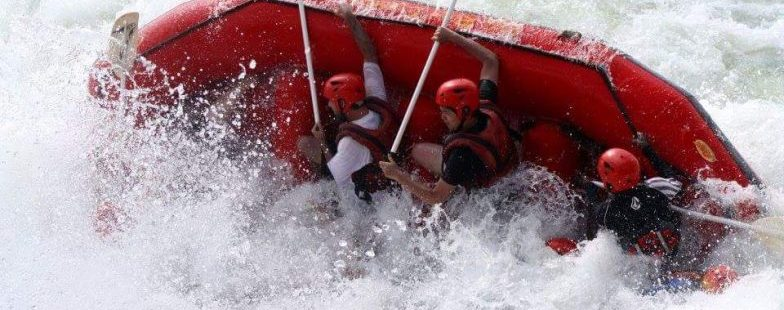 White Water Rafting high Grade