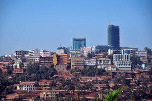 Kigali, Rwanda: skyline of the central african capital - photo